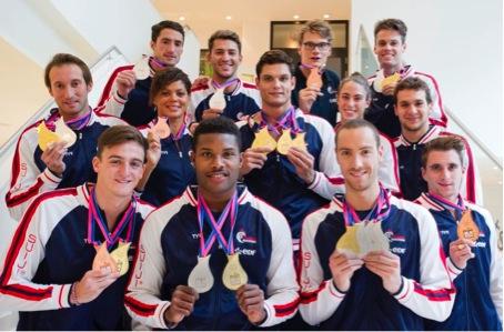 Les nageurs tricolore rapportent de Berlin12 médailles dont 5 en or
