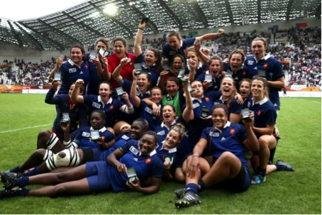 L'équipe de France féminine de rugby